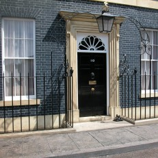 My Dad's The Prime Minister - No. 10 Exterior Set Build
